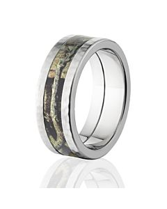 Mossy Oak Camouflage Ring, Break Up Infinity Wedding Bands