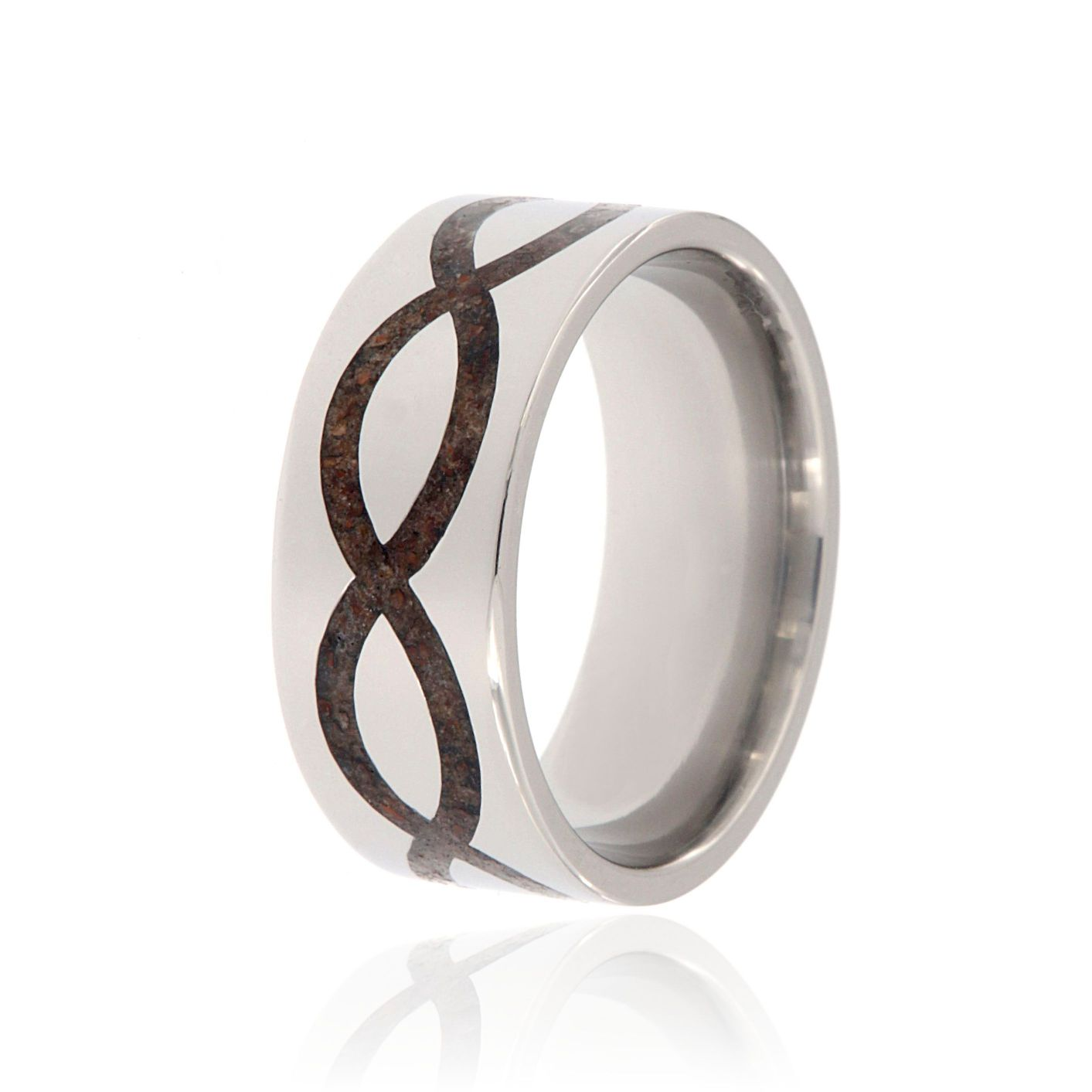 benchmark mens infinity wedding bands s jewelry band henry fine
