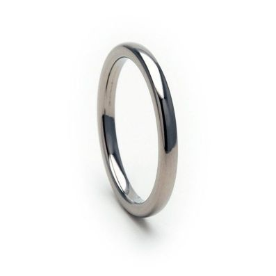 New 2mm Titanium Ring, Titanium Wedding Band