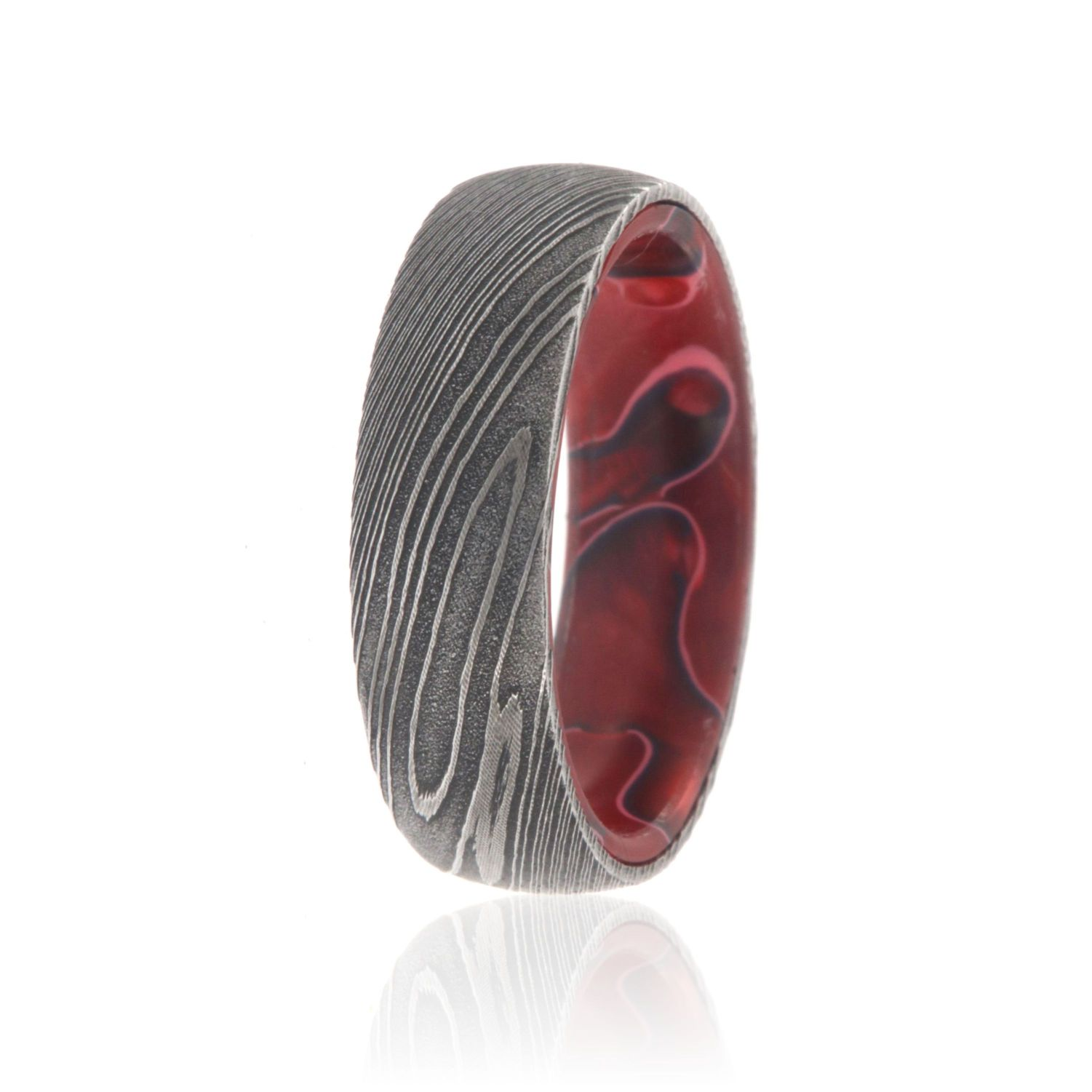 wood wedding inlays titanium men exotic mwb and custom at collection home s rings bands