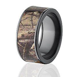 RealTree AP Camo Rings Mens Camouflage Wedding Rings