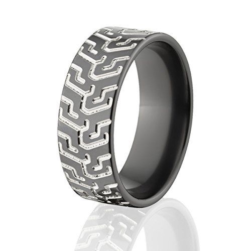 Motorcycle Tire Bands, Tire Wedding Rings, USA Made