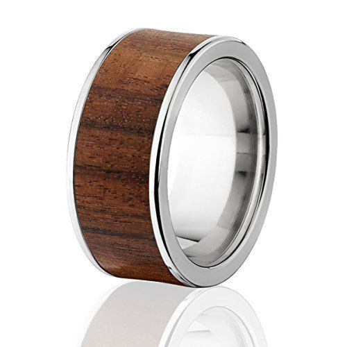 New Bolivian Rosewood Rings,  Exotic Hard Wood Wedding Band