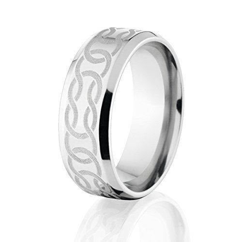 cobalt wedding rings mens celtic ring - Cobalt Wedding Rings