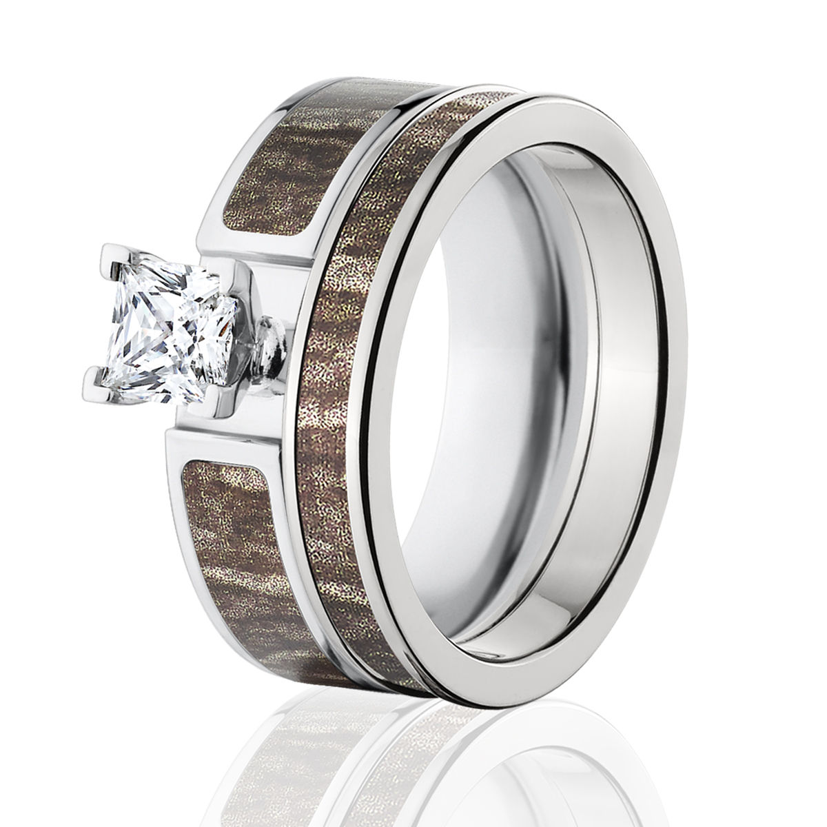 Camo Wedding Rings For Women