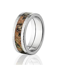 realtree xtra green official camouflage wedding rings and camo bands - Camouflage Wedding Rings