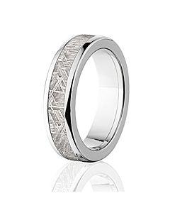 Meteorite Rings Meteorite Wedding Band Mens Meteorite Ring
