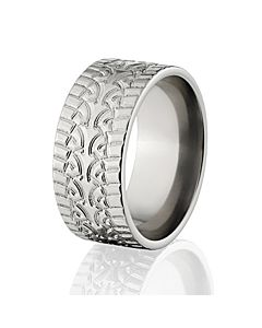 Custom Tire Tread Ring Made In The Usa