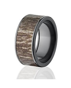 mossy oak rings camo wedding bands black bottomland camo rings - Mens Camo Wedding Rings