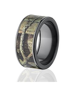 mossy oak bands camo wedding rings black breakup infinity camo bands - Mossy Oak Wedding Rings