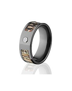 Mossy Oak Rings Camouflage Wedding Band Duck Blind Camo