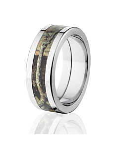 Mossy Oak Band Break Up Infinity Mens Camo Wedding Rings