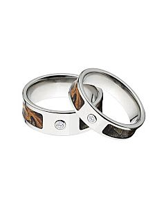 realtree xtra camo rings camouflage wedding ring set realtree xtra anium camo rings w diamonds - Realtree Camo Wedding Rings