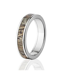 aerospace grade titanium rings realtree max 4 camouflage inlay rings - Realtree Camo Wedding Rings
