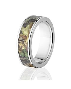Mossy Oak Rings Camo Wedding Bands Titanium New Breakup