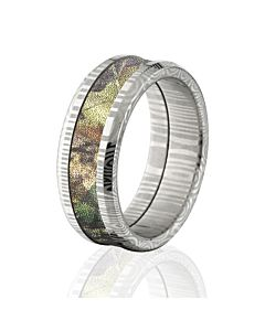 Camo Rings Damascus Steel Camo Rings Camo Wedding Rings