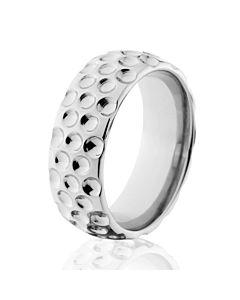 golf rings titanium custom golf ball bands - Sports Wedding Rings